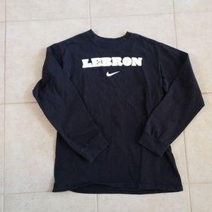 Nike youth Lebron James shirt, size L (14-16)